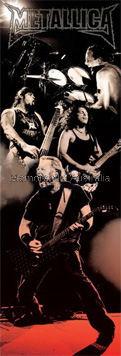 Metallica Door Poster