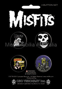 Misfits Button Badge Pack