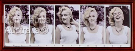Marilyn Monroe Panoramic Print