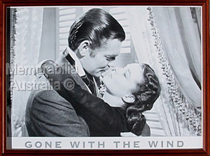 Gone with the Wind Framed Poster