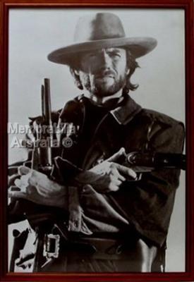 Clint Eastwood Framed Poster