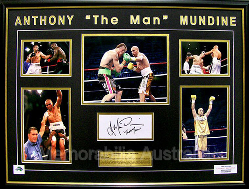 Anthony Mundine Photo Collage