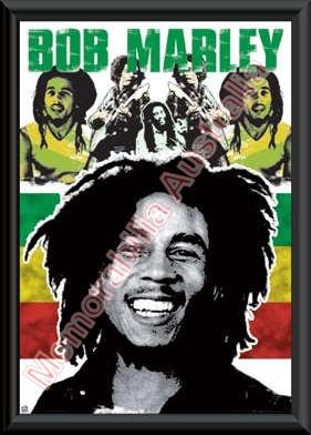 Bob Marley Framed Poster