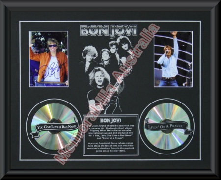 Bon Jovi Printed CD Matt