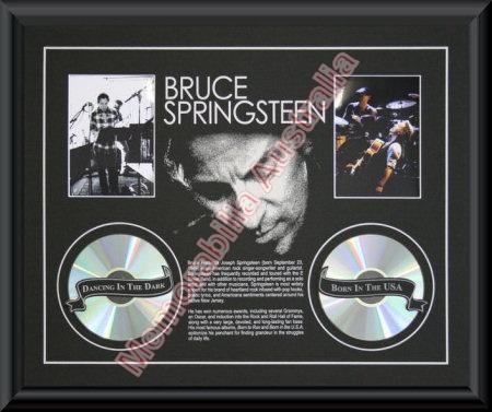 Bruce Springsteen Printed CD Matt