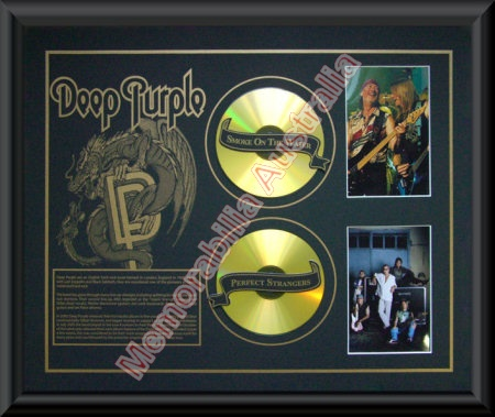 Deep Purple Printed CD Matt