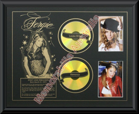 Fergie Printed CD Matt