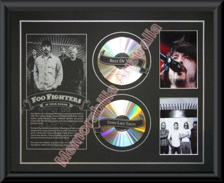 Foo Fighters Printed CD Matt