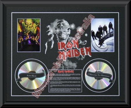 Iron Maiden Printed CD Matt
