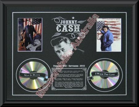 Johnny Cash Printed CD Matt