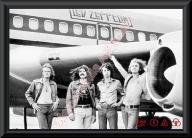 Led Zeppelin Framed Poster 2