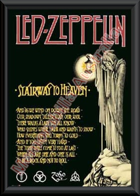 Led Zeppelin Framed Poster 3