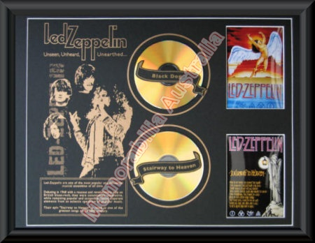 Led Zeppelin Printed CD Matt