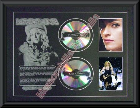 Madonna Printed CD Matt