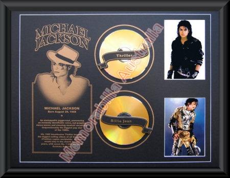 Michael Jackson Printed CD Matt