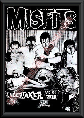 Misfits Framed Poster