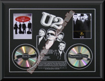 U2 Printed CD Matt