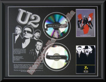 U2 Printed CD Matt 2
