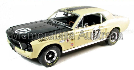 1:18 1967 Ford Mustang Terlingua Racing Tribute Edition