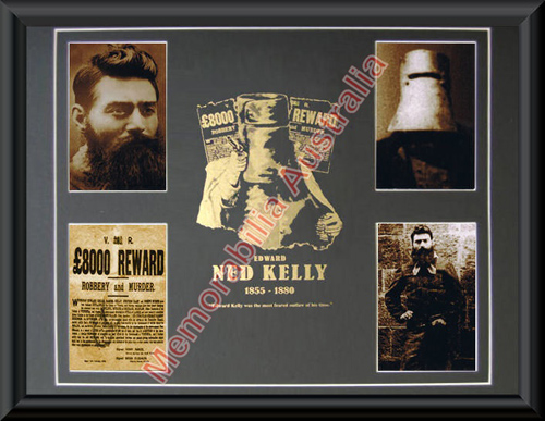 Ned Kelly Photo Collage