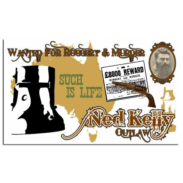 Ned Kelly Flag