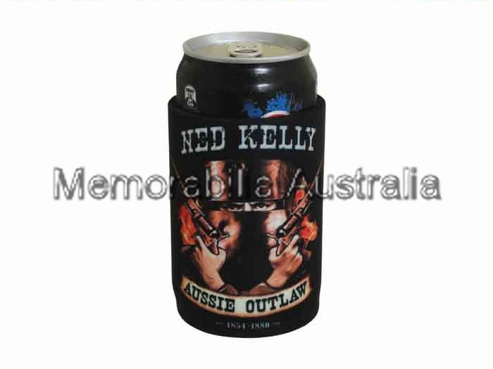 Ned Kelly Aussie Outlaw Can Cooler