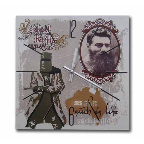 Ned Kelly Wall Clock