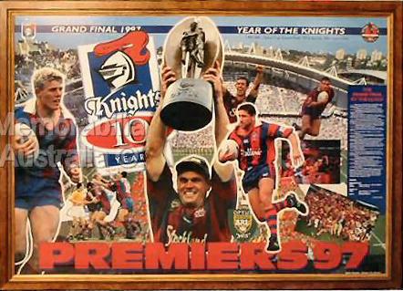 1997 Newcastle Grand Final Print