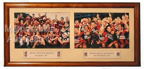 Newcastle Knights Premiers Collage