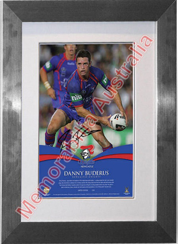 Danny Buderus Career Lithograph