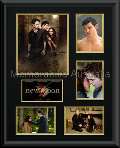 New Moon LE Photo Montage Framed