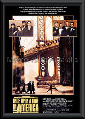 Once Upon A Time In America Framed