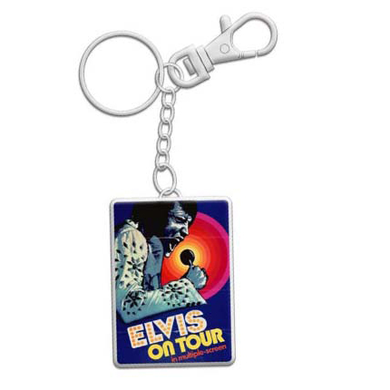 Elvis Keychain