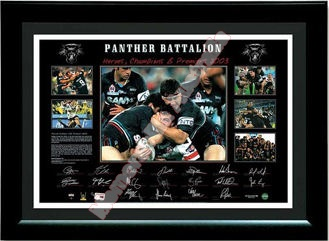 2003 Penrith Panthers Premiership Lithograph
