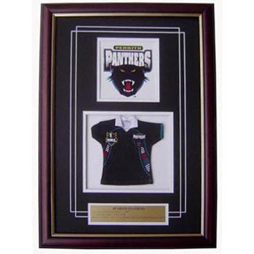 Panthers Framed Logo Mini Jersey