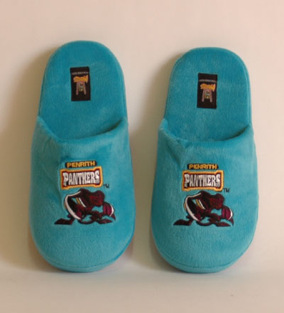 Penrith Panthers Slippers - Small