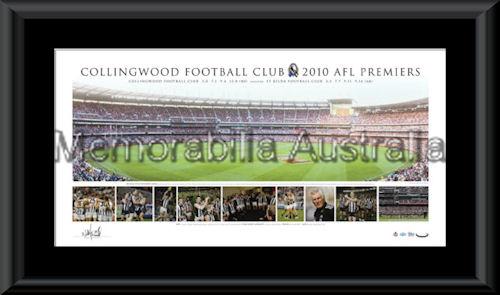 Collingwood 2010 Premiership Panoramic