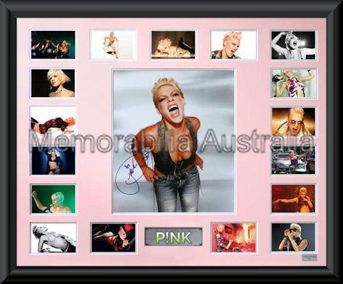 Pink Oversize LE Montage Mat Framed
