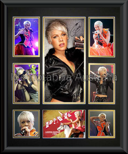 Pink LE Photo Montage Framed