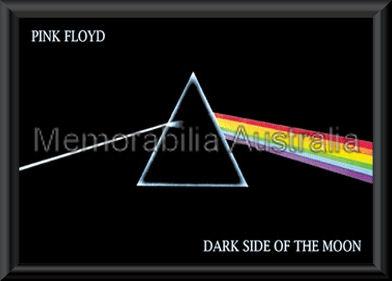 Pink Floyd Dark Side Poster Framed