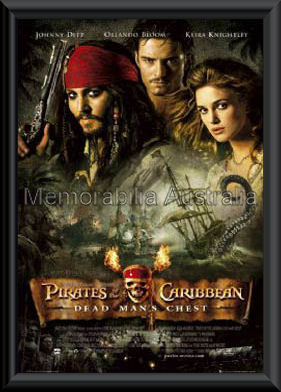 Pirates Of The Caribbean 2 Framed