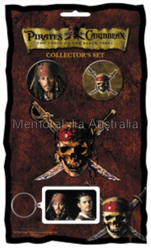Pirates of the Carribean Collectors Set