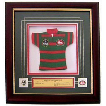 Rabbitohs Framed Mini Jersey