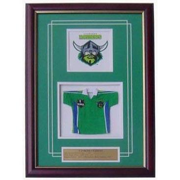 Raiders Framed Logo Mini Jersey