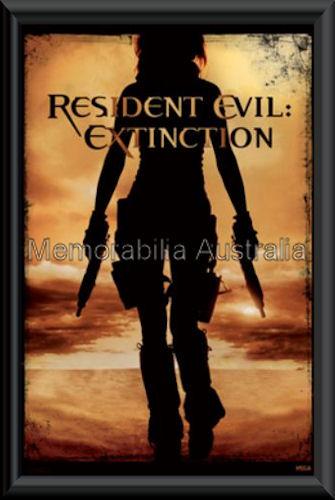 Resident Evil Extinction Poster Framed