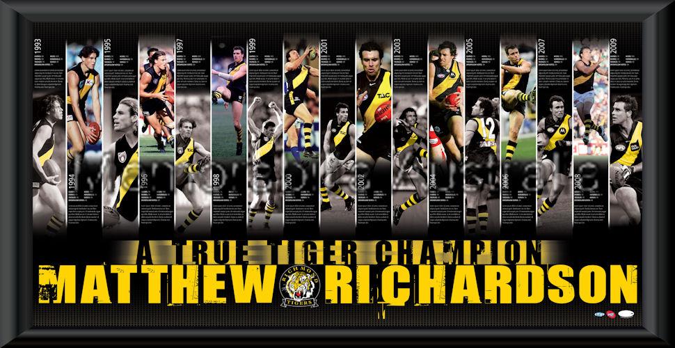 Matthew Richardson Retirement Print Framed