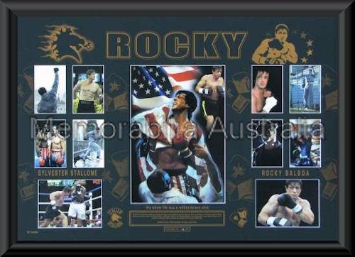 Rocky LE Oversize LE Montage Framed