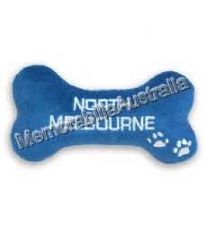 North Melbourne Kangaroos  AFL Dog Chew Toy
