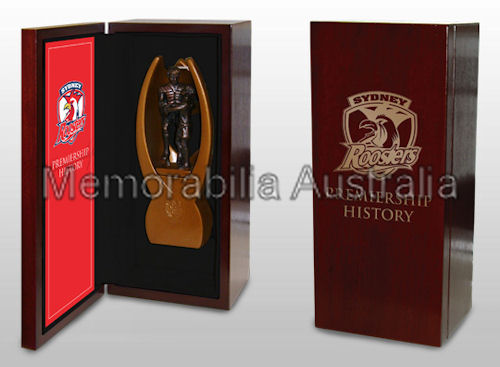 Roosters Premiership History Trophy LE