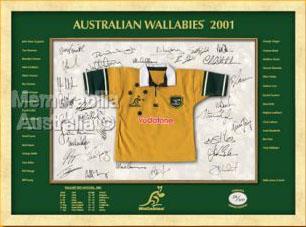 Australian Wallabies 2001 Mini Jersey